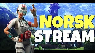 NYE SKINS // 450+ WINS // NORSK FORTNITE STREAM