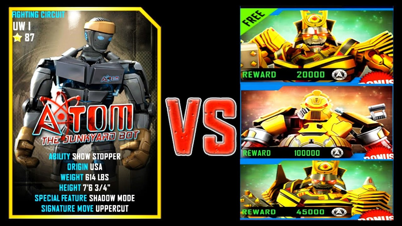 Real Steel Online Game Play
