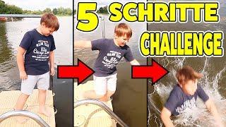 5 SCHRITTE VORWÄRTS CHALLENGE 😰😳 KRASS TipTapTube