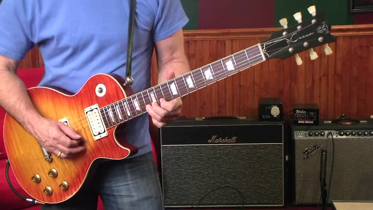 Corsa Guitars, MAN-002, middle position, out of phase - YouTube