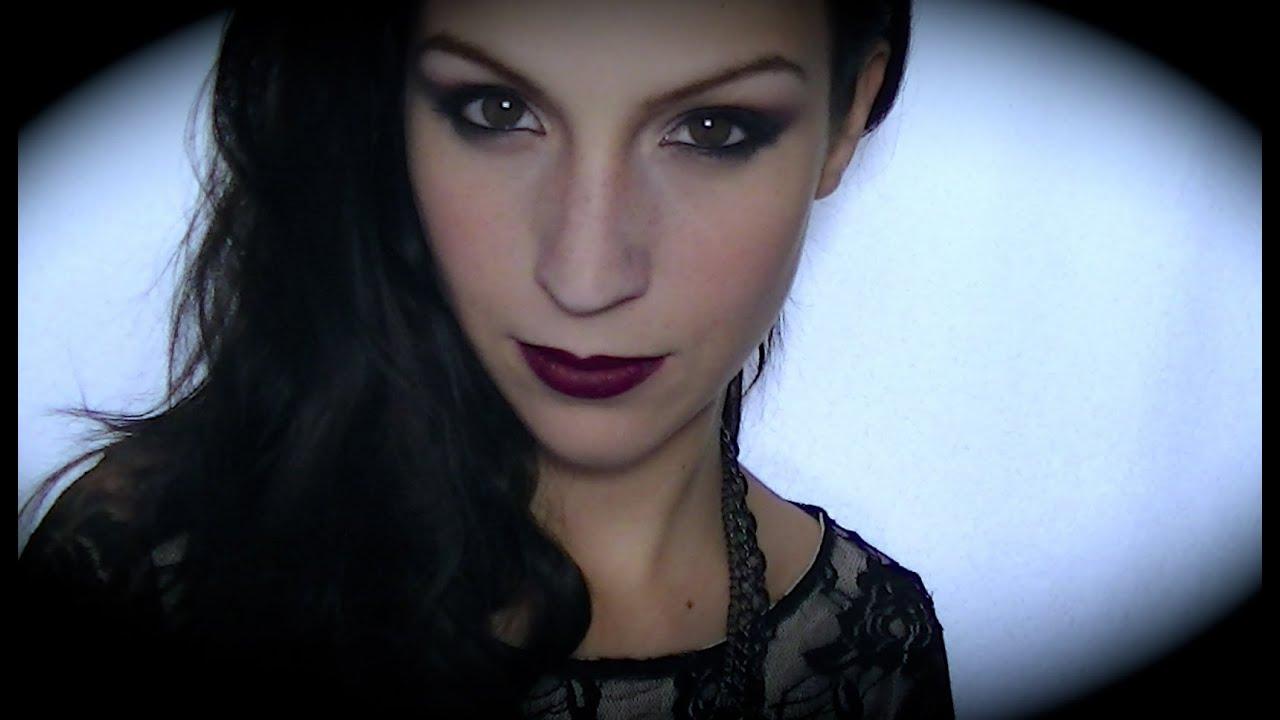maquillage vampire glamour