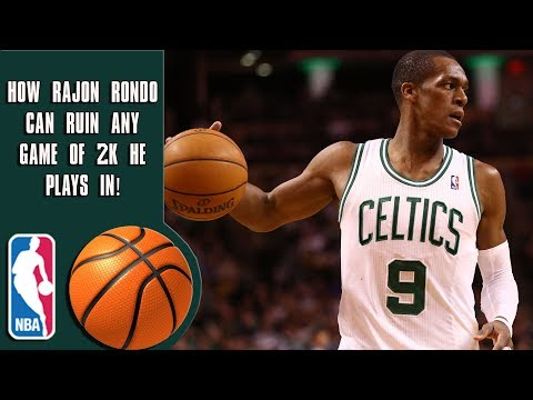 How Rajon Rondo can ruin any game of 2K he plays in!