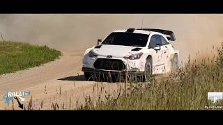 Hyundai i20 WRC Hayden Paddon and Seb Marshall test in South Estonia 27 06 2018