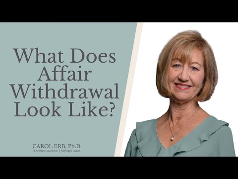 Withdrawal after an affair