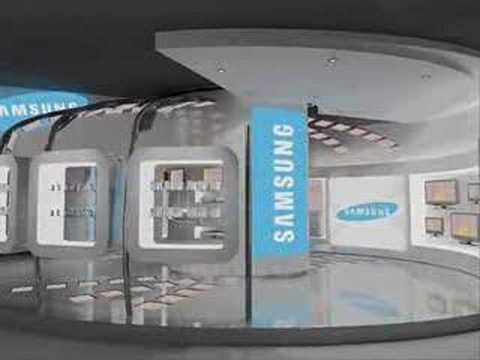 samsung store design point zero youtube. Black Bedroom Furniture Sets. Home Design Ideas