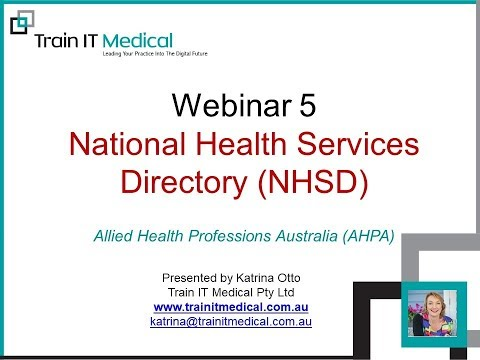 National Health Services Directory for Allied Health Providers by Katrina Otto