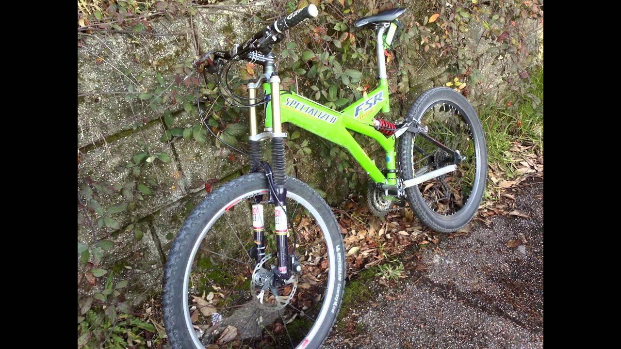 0e260e895d1 1998 Vintage mountain bike SPECIALIZED Ground Control FSR Extreme GoPro