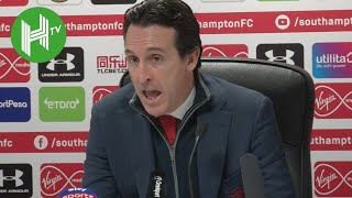Southampton 3-2 Arsenal I Unai Emery: Finishing in top four will be difficult now!