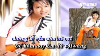 [Karaoke] Lệ Tình - Tuấn Khang (Hoài Lâm)