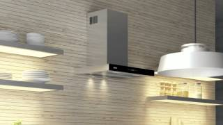 Кухонная вытяжка ELEYUS STELS - видео обзор т-образной вытяжки