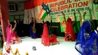 'Wo Krishna hai' performance in Kala niketan bal vidyalaya