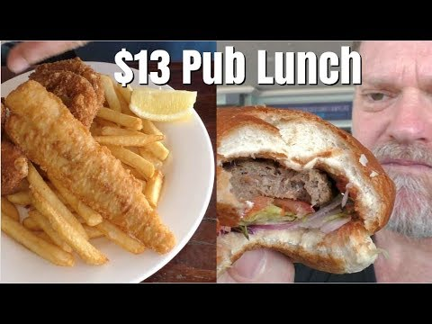 $13 Pub Lunch At Burleigh Heads Surf Club  - 3 Men Review