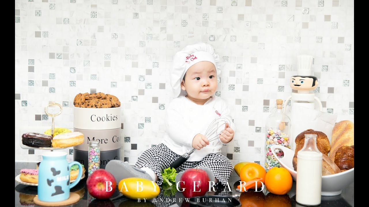 Baby gerards photoshoot teaser videograph chef