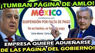 ACABA DE PASAR ¡ QUIEREN TUMBAR PAGINAS DE AMLO y SECTUR ! EMPRESA BUSCA ADUEAÑARSE DEL GOBIERNO 4T