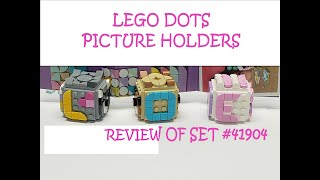 LEGO DOTS 2020 SET REVIEW! Picture Holders set #41904