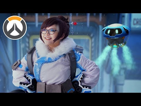 """Overwatch: """"A Mei in the Life"""" [Live Action]"""