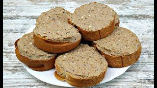 ПРОСТО ОБАЛДЕННАЯ РЫБНАЯ НАМАЗКА на хлеб ИДЕАЛЬНАЯ ЗАКУСКА за 3 минуты