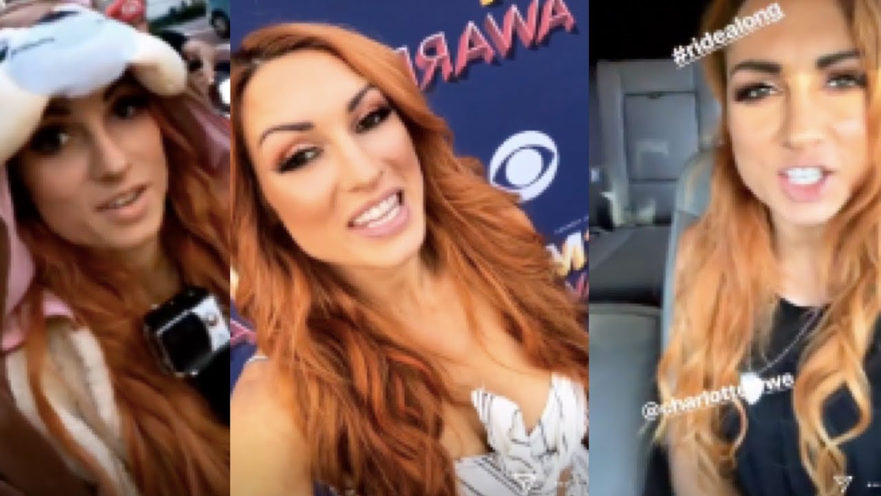 Best of WWE's Becky Lynch 2018 (CUTE and Funny Instagram/Snapchat Moments)