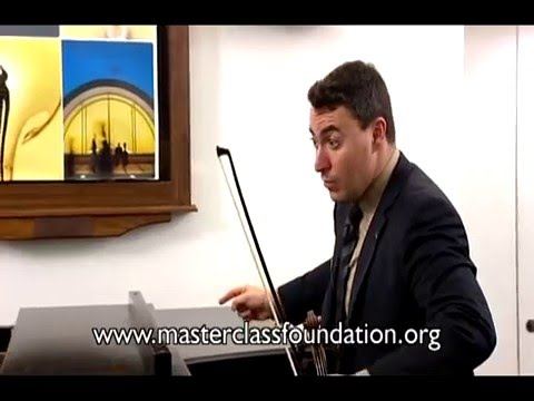 Vengerov: Bach (Sonata No.1) -- How To Achieve A Good Vibrato