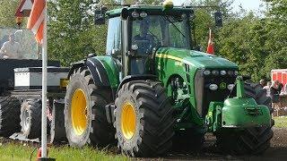 John Deere 8530 w/ HUGE MEGA X BIB Michelin Tires Pulling The Heavy Sledge | DK Tractor Pulling