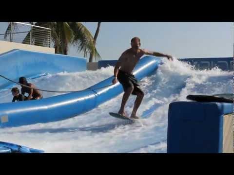 Week 1 Adventure: Wave House Sentosa