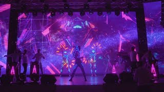 Театр «БезГраниц» и DrumTime | Световое шоу | Тизер | TOP13SPB 2018