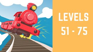 Off the Rails 3D Game Walkthrough Level 51-75