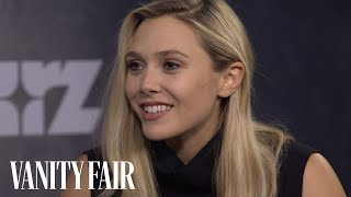 "Elizabeth Olsen Talks Romancing Tom Hiddleston's ""Hank Williams"" - I Saw the Light - TIFF 2015"