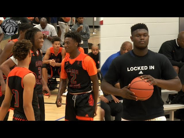 Zion Williamson vs the Best AAU Team in the Nation! Full Highlights from Adidas Gauntlet Finale