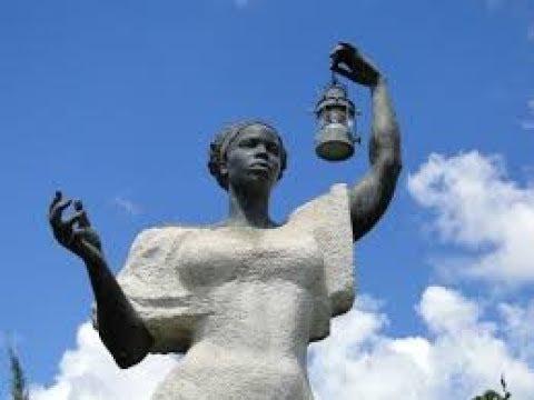 ORIGINAL STATUE OF LIBERTY NEGRO SLAVE WOMAN NO INDIAN/HISPANIC