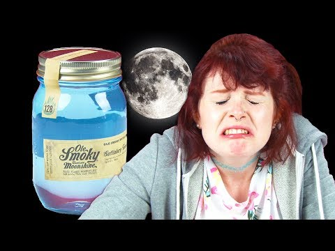 Irish People Taste Test American Moonshine