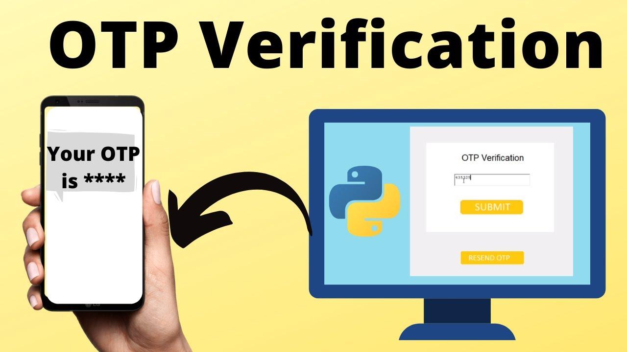OTP Verification System Using Python