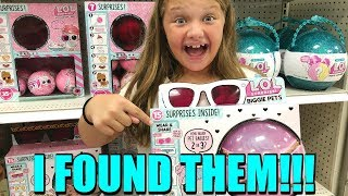 Toy Shopping at Target for LOL SURPRISE Biggie Pets, Poopsie Slime Surprise,