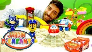 Vidéo éducative en français. Jouets ensemble dans le Jardin d'Enfants №47