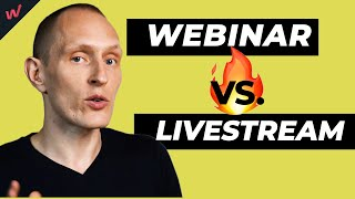 Webinars vs. Livestreaming vs. Online Meetings - What's the Difference?