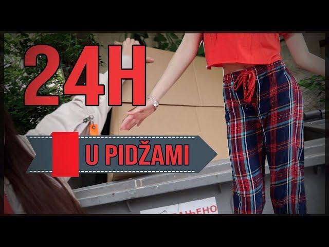 24H U PIDŽAMI | vlog |