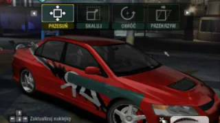 How to make a Tokyo Drift Evo in NFS Carbon