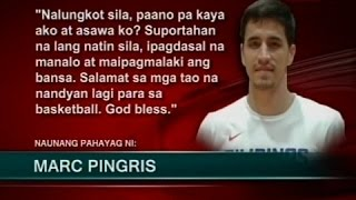 SONA: Marc Pingris, balik Gilas Pilipinas