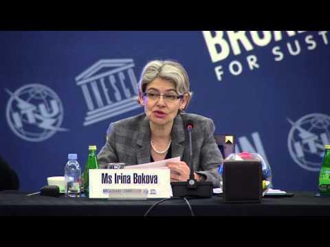 Irina Bokova, DG, UNESCO - Opening Remarks at 13th Broadband Commission Meeting, Dubai