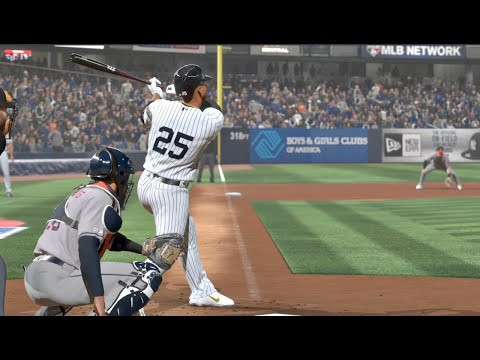 2019 ALCS - New York Yankees Vs Houston Astros - Game 4 (MLB 10/16/2019) MLB The Show 19