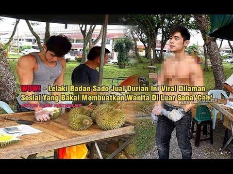 Lelaki Badan Sado Jual Durian?