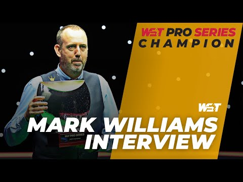 Mark Williams Clinches Pro Series Title On His 46th Birthday!