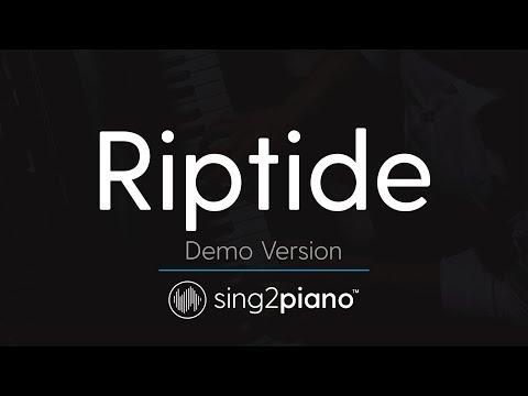 Riptide (Piano Karaoke demo) Taylor Swift [Vance Joy]