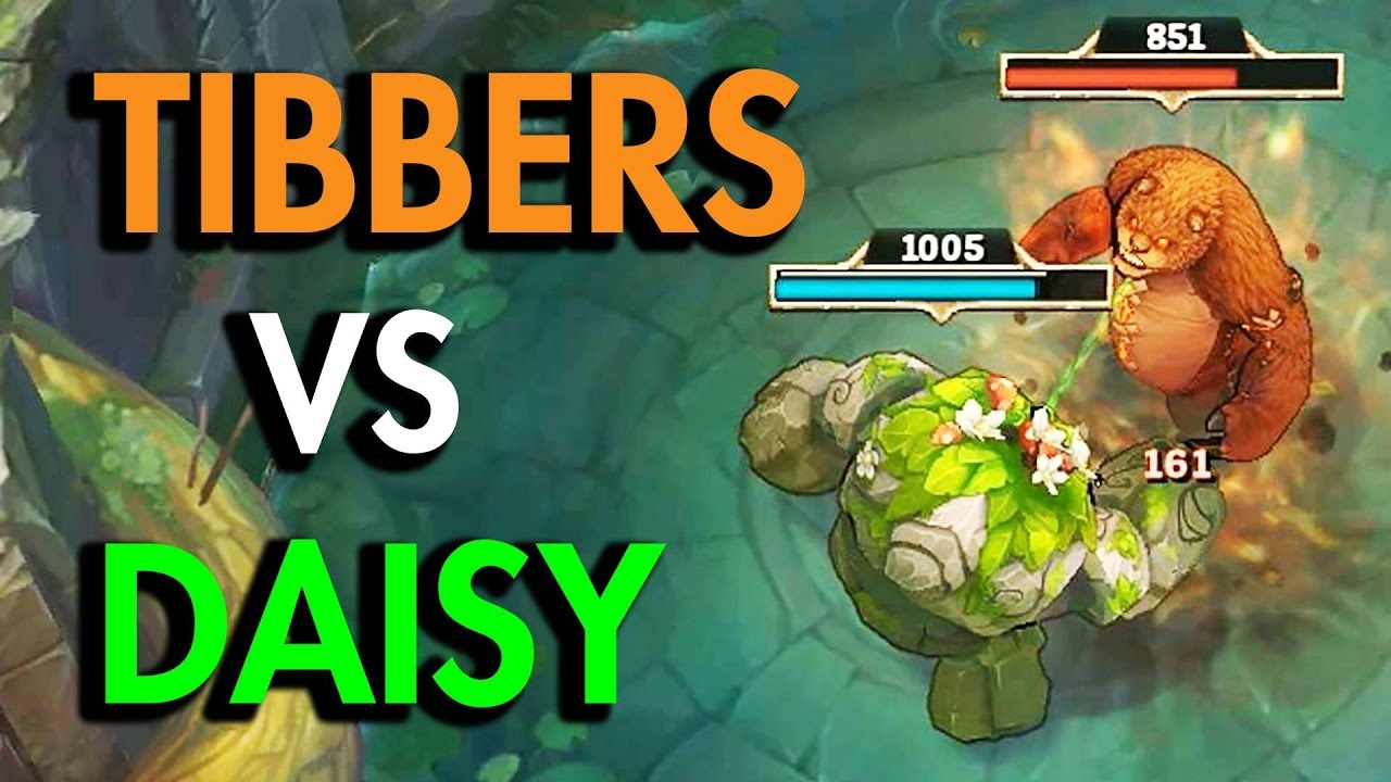 K1ng Tibbers Vs Daisy Ivern Vs Annie League Of Legends Youtube