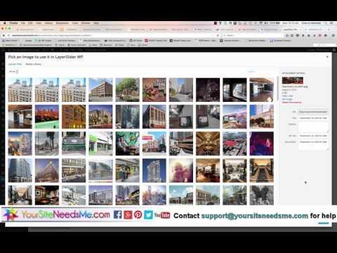 Wordpress Tutorial: Editing Layerslider