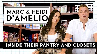 Charli & Dixie D'Amelio's Mom and Dad, Marc & Heidi, Give Us A Tour Of Their Pantry & Closets | GH