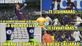 Memes Barcelona vs Chelsea 3-0 Messi llega a 100 Goles en Champions League