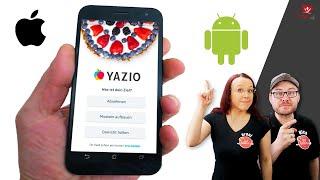 YAZIO 📱 Das kann die Tracking App 🍱 Kalorienzähler Apps im Vergleich screenshot 3