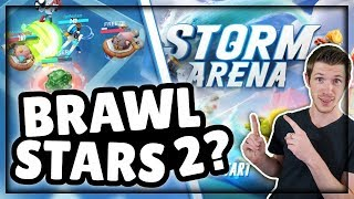 New Game! ► Time to Surf in the Storm Arena! | Epic New MOBA Mobile 3v3 Game!