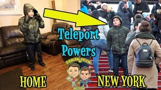 I TELEPORTED TO NEW YORK | D&D SQUAD